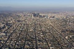 Los Angeles California Urban Aerial View stock image
