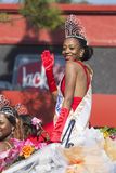 Los Angeles, California, USA, January 19, 2015, 30th annual Martin Luther King Jr. Kingdom Day Parade, parade queen Royalty Free Stock Photo