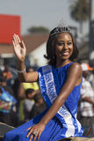 Los Angeles, California, USA, January 19, 2015, 30th annual Martin Luther King Jr. Kingdom Day Parade, parade queen Stock Images