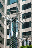 LOS ANGELES, CALIFORNIA/USA - JULY 28 : Unusual building in the stock images