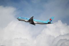 A Korean Air Airbus A330-200 Royalty Free Stock Photo