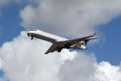 United Express Bombardier Stock Photography