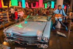 Elvis Presley`s Car. stock images