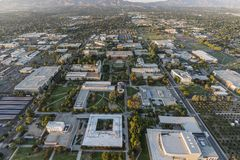 CSUN Aerial Los Angeles California stock images