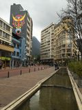 Los Angeles Candelaria, Bogotà ¡, Kolumbia obraz stock