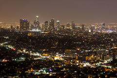 Los Angeles CBD Royalty Free Stock Photography