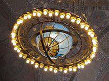 Los Angeles Central Library Zodiac Globe royalty free stock photography