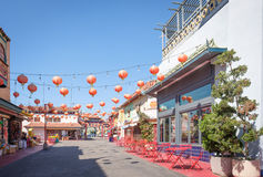 Los Angeles, Chinatown Street, California Royalty Free Stock Image
