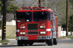 Los Angeles City Fire Engine Stock Images