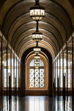 Los Angeles City Hall. Corridor inside of City Hall on Spring Street in Los Angeles, California Royalty Free Stock Photos