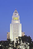 Los Angeles City Hall in the downtown area. Stock Images