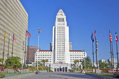 Los Angeles City Hall, Downtown Civic Center stock photo