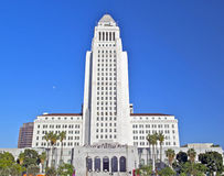Los Angeles City Hall, Downtown Civic Center Royalty Free Stock Photo