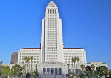 Los Angeles City Hall, Downtown Civic Center Royalty Free Stock Images