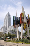 Los Angeles City Hall Downtown Los Angeles Stock Photo