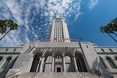 Los Angeles City Hall Royalty Free Stock Photos