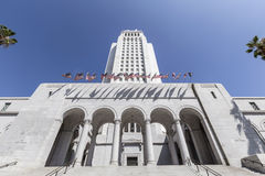 Los Angeles City Hall Royalty Free Stock Images