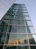 Los angeles city hall reflection Stock Photos
