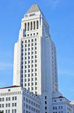 Los Angeles City Hall Tower, Downtown Civic Center Stock Photos