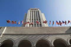 Los Angeles City Hall, USA. Los Angeles City Hall. USA Royalty Free Stock Photos