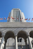 Los Angeles City Hall, USA. USA, Los Angeles City Hall Stock Photo
