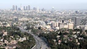 Los angeles city landscape timelapse stock footage