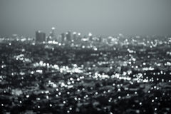 Los Angeles City Night Stock Images