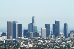 Los angeles city Stock Image