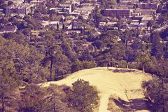 Los Angeles City Park Royalty Free Stock Image