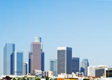 Free Los Angeles City Skyline In Morning Stock Photos - 19806433