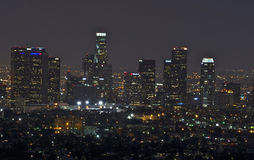 Los Angeles Cityscape Royaltyfria Bilder