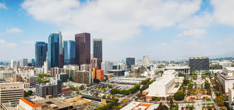 Los Angeles cityscape panorama Stock Photo