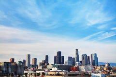 Los Angeles cityscape Royalty Free Stock Photo