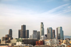Los Angeles cityscape Royalty Free Stock Image