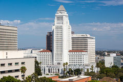 Los Angeles Civic Center Royalty Free Stock Photography