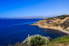 Los Angeles Coastline Royalty Free Stock Photos