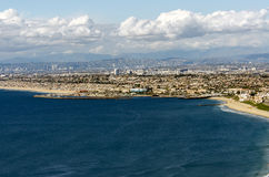 Los Angeles Coastline Stock Photography