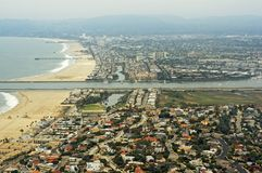 Los Angeles Coastline Royalty Free Stock Photography