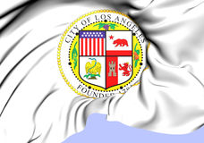 Los Angeles Coat of Arms, USA. Stock Image