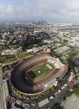 Los Angeles Coliseum Stadium Stock Photo