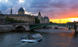 Los Angeles Conciergerie, Paryż, Francja Zdjęcie Royalty Free
