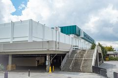 Los Angeles Convention Center - CALIFORNIA, USA - MARCH 18, 2019. Los Angeles Convention Center - CALIFORNIA, UNITED STATES - MARCH 18, 2019 royalty free stock image