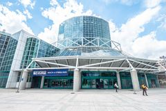 Los Angeles Convention Center - CALIFORNIA, USA - MARCH 18, 2019. Los Angeles Convention Center - CALIFORNIA, UNITED STATES - MARCH 18, 2019 stock image
