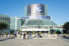 Los Angeles Convention Center entrance Stock Photography