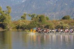 Dragon boat festival at Santa Fe Dam Recreation Area Stock Photography