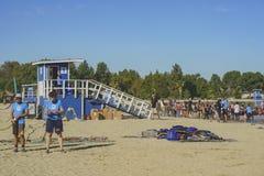 Dragon boat festival at Santa Fe Dam Recreation Area Stock Images