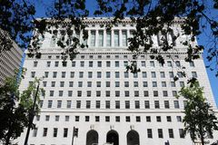Los Angeles courthouse Royalty Free Stock Photography