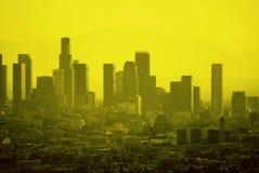 Los Angeles crépusculaire Photos stock