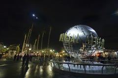 LOS ANGELES DECEMBER24th : Studios universels dans des angles de visibilité directe Photos libres de droits
