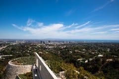 Los Angeles dat van berg wordt bekeken royalty-vrije stock foto